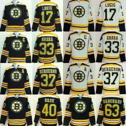 Wholesale Boston Bruins Cheap Hockey Jerseys BERGERON LUCIC CHARA MARCHAND KREJCI RASK black white camo drop freeshipping