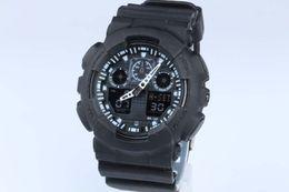 1pcs top relogio G100 men's sports watches, LED chronograph wristwatch, military watch, digital watch, good gift for men & boy, dropship