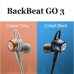 Wholesale 2016 New Arrival PLT BackBeat GO Wireless earphone Sports Sweatproof Bluetooth Go3 headphones without Charge Case DHL Free