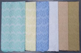 Wholesale African Polish Cotton Lace for Men Multi Colors Apparel Cotton Fabric for Women s Party Dress Clothing