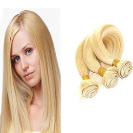 8A Unprocessed Virgin Hair 3 Bundles 300g a lot Brazilian Virgin Hair Straight Human Hair Bundles No Smell Free Shipping