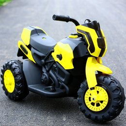 Electric motorcycle with Light music Toy car A storage battery car Drive type single drive