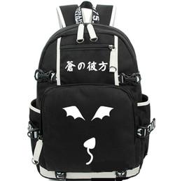 Quatre rythmes À travers le sac à dos Blue Anime Daypack Sac à dos chaud Sac à dos de qualité Sac de sport scolaire Sac de jour de plein air à partir de le sport bleu paquets de plein air fournisseurs