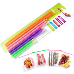 Clips de bolsas en venta-Magic Bag Sealer Stick Único Varillas de sellado Gran ayudante para el clip de clip de sujeción cllip sellado de almacenamiento de alimentos Por DHL Free