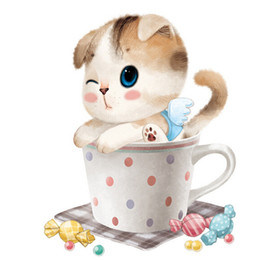 A1032 5D Diamond Embroidery Home Decor Cross Stitch Cup Cat 100% Resin Tool dril Painting Cross Stitch Mosaic Needlework