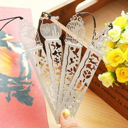1054 beautiful hollow-out ultra-thin exquisite miniature metal bookmark a scale ruler Creative contracted lovely bookmark