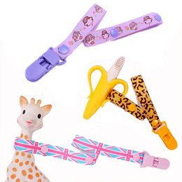 Wholesale Baby Pacifier Clip Pacifier Holder For Nipples Attache Sucette Pacifiers Dummy Clip Feeding Soother Nipple Holder For Babies