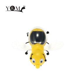 Descuento juguete educativo de abeja Los niños lindos de la abeja solar de la venta al por mayor-Caliente juega los juguetes educativos solares educativos interesantes de los niños populares de la abeja accionada solar de la energía