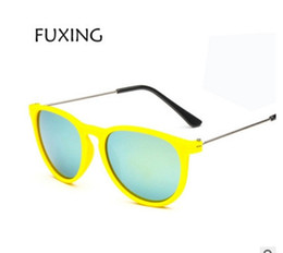 Gafas de diseño fresco en Línea-2017 Los vidrios de sol del diseñador de la marca de fábrica para el marco reflexivo del metal de los niños refrescan los vidrios UV400 de los niños de las gafas de sol de los cabritos