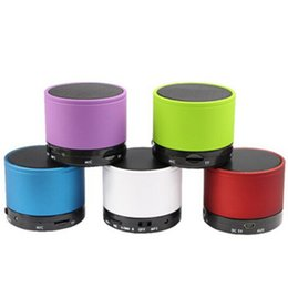 S10 Bluetooth Speakers Mini Wireless Portable Speaker HI-FI Music Player Stereo Subwoofers Home Audio Support TF Card with retail packaging