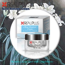 Wholesale Private Label Manufacturers Stock Goods Strong Effect REAL PLUS Herbal Aloe Vera Acne Removal Cream