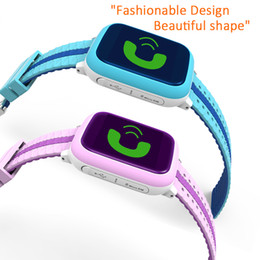 Wholesale DS18 Kids Smart Watch IP65 Waterproof Tempered Glass SOS GPS LBS GPS Location Tracking Baby Children Wristwatch With Wifi SIM Card Slot