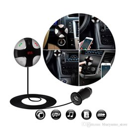 2016 New Hot Bluetooth 3.0 Car Kit MP3 FM Transmitter USB Charger Handsfree Free Shipping