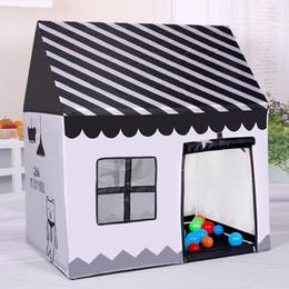 Descuento altos tiendas de campaña La tienda al por mayor del juego de Paly de los niños de la alta calidad puede plegar la tienda al aire libre 100 * 70 * 110cm D168 de los juguetes de Childern