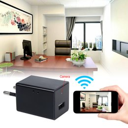 Wholesale 1080P HD WIF Plug US EU USB Charger Wireless Hidden SPY Camera Adaptor Socket Wifi Camera Surveillance Cam Real Time Monitoring