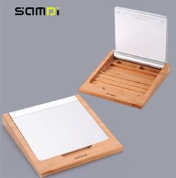 SAMDI Bamboo Holder Dock Stand for Bluetooth Wireless Magic Trackpad