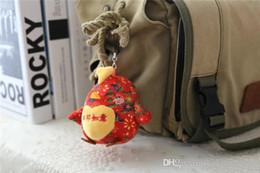 Wholesale 2017 Nouveau style chinois poulet mini jouets sacs sac à main pendentif mignon jouet enfants chaîne enfants jouets style cadeau de Noël