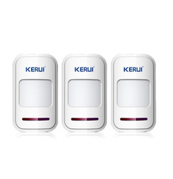 LS111-3PCS LOT!!! KERUI 433Mhz Wireless Intelligent PIR Motion Detector Door Sensor remote For 8218G G18 G19 Home Alarm System