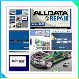 Wholesale 2016 Hot Selling Alldata Auto Repair Software All data Mitchell on demand Vivid workshop ElsaWin tb hdd with softwares