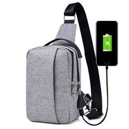 Mini USB Design Waist Bag Wallet Gift Large Capacity Chest Bag Hot-Selling Crossbody Designer Travel Bag