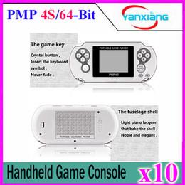 10pcs 2017 Classic PMP4S Portable Game Player Construit en 400 Jeux, Support Arcade Jeux + GBA + SEGA + SFC / NES Jeux Kids Gift YX-PMP4S à partir de jeux vidéo classiques fabricateur