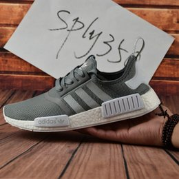 Wholesale 2017 Adidas NMD Runner W Shoes NNM_R1 S79386 S79385 R Primeknit nmd R1 Sports Women Mens Running Shoes Sneakers Shoes Casual Size
