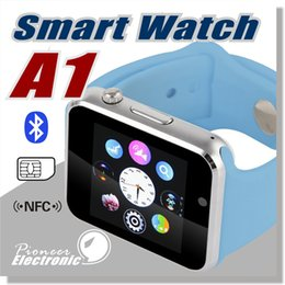 Wholesale A1 Smart Watch Bluetooth DZ09 GT08 Touch Screen Smartwatch Apple iWatch Support SIM TF Card Smart Watches for Smartphone with Retail Package