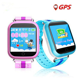 GPS smart watch Q750 Q100 baby watch with Wifi 1.54inch touch screen SOSCall Location Device Tracker Kid Safe PK Q50 Q60 Q80