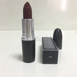 Wholesale HOT NEW M top quality Makeup MATTE STAIN Luster Lipstick RUBY WOO CHILI WHIRL VELVET TEDDY DIVA HONEYLOVE KINDA SEXY