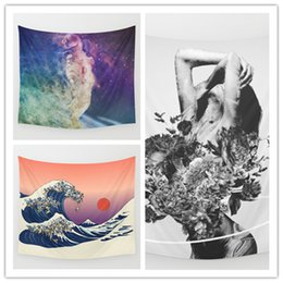 Space Art Tapestry Background Yoga Home Cloth Beach Towel Living Room Decoration Wall decoration ECO Friendly