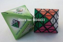Dayan juguete en venta-Envío libre de la gota del envío de Octahedron de Dayan Octahedron negro / blanco / transparente de Magico del cubo Magico