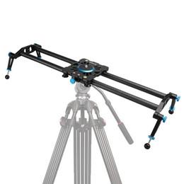 Wholesale New Professional cm cm cm Carbon Fiber Travel Portable Bearing Video Camera Slider Stabilizer Dolly Camcorder DSLR Slider