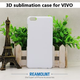 40 pcs High Quality Glossy Case for Vivo Y51L X PLAY6 blank 3d PC Sublimation case cover for Vivo Y67 V5 Y55