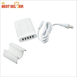 New arrival Multi-port 5 USB IPhone Charger Ipad Charger With Packing kits output DC 5V 4A for Apple Samsung iPhone Ipad chargers