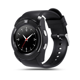 V8 Smart Watch Clock With Sim TF Card Slot Bluetooth suitable for Apple iPhone Android Phone Smartwatch wristwatch