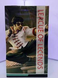Wholesale LOL PVC Figuras de Acción Modelos Lee Sin El Monje Ciego