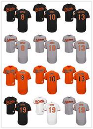 Wholesale 2016 Flexbase Men s Baltimore Orioles Adam Jones Manny Machado Cal Ripken Chris Davis baseball jerseys Stitched Mixed order