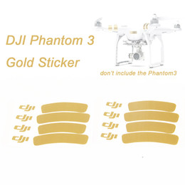 Wholesale Decoration Strip Sticker For DJI Phantom Decal Skin Ring Logo Sticker Drone with Camera RC Quadcopter Low Shipping