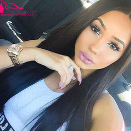 Glueless Silk Top Wigs For Black Women Free Part Silk Top Human Hair Wigs Brazilian Human Hair Straight 4X4 Silk Top Wigs