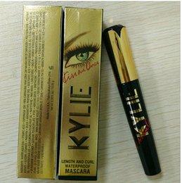 Kylie mascara kiss me gold mascara waterproof sweat sweat curl slim Make up Cosmetics free DHL