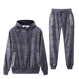 Mens Set Clothing 2017 Men's Tracksuit Hoody Boy Uniform Fleece Hoodie Pants Jogger Suits Fashion Man Clothing Free Shipping