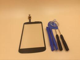 2017 écran tactile google Remplacement de l'écran tactile de Digitizer pour Google LG Nexus 4 E960 Verre Objectif + Outils peu coûteux écran tactile google