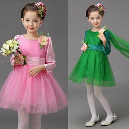 princess girl dress kids teenagers clothes girl dance party dresses performance clothing children prom gown Kids Ballroom Party dance dress