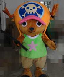 Wholesale One Piece Chopper Mascot Costume custom cartoon character cosply adult size carnival costume fancy dress party kits
