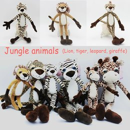 Wholesale 2017 manufacturers selling jungle animal plush toys doll doll dolls to send friends to send their children the best choice of large Congyou