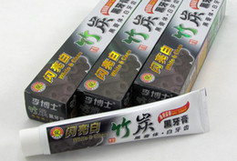 Wholesale High Quality toothpaste charcoal toothpaste whitening black tooth paste bamboo charcoal toothpaste oral hygiene tooth paste