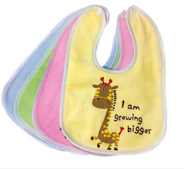 Cartoon Waterproof Baby Infant Bibs infant Lunch Saliva Towels