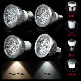 Wholesale E27 E14 GU10 MR16 X1W High Power LED SpotLights LED spotlight ceiling spotlights