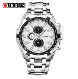 Relogio Masculino CURREN Watches Men quartz army Watch Top Brand Waterproof male Watches Men Sports 8023