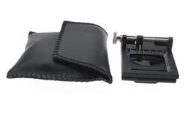 Supports métalliques pour le verre à vendre-10X LED Pliant Magnifier Cloth Loupe Loupe Loupe Loupe Loupe Stand avec Light Pointer et échelle 1mm